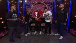 Radamés y El Chafas Cadena se enfrentan en una reta de rap en Guerra de Chistes