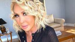 Laura Bozzo responde a quienes la critican por aparecer sin maquillaje: 'A mí me vale'