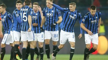 Con goles de Timothy Castagne, Mario Pasali´c y Robin Grosens, Atalanta golea y se mete a los Octavos de Final de la UEFA Champions League.