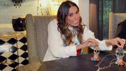 Galilea Montijo elabora con sus propias manos el regalo para Andrea Legarreta por su cumpleaños