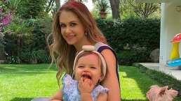 Awww… Mira la enternecedora risa de Martina, hija de Ingrid Martz, 'siempre está de buen humor'