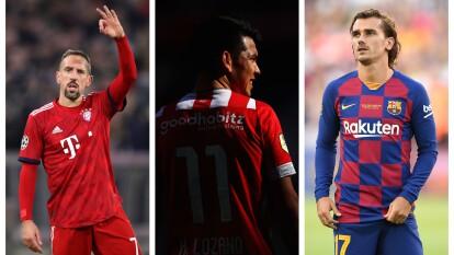 El francés Antoine Griezmann se incorporó a las filas del FC Barcelona desde el 10 de julio de este año.