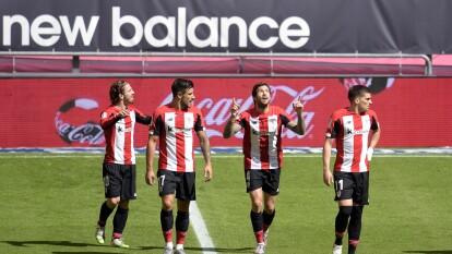 Con solitario gol de Iñigo Martínez, el Athletic de Bilbao consigue los tres puntos en un muy apretado encuentro frente al Real Betis.