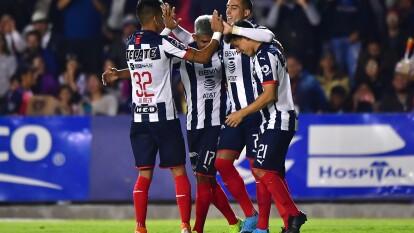 Con goles de Miguel Layún, Rogelio Funes Mori y doblete de Maxi Meza, Monterrey gana en Celaya y pone un pie en la siguente ronda de la Copa MX.