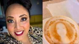 Michelle Rodríguez presume que hacen su cara en la espuma de su café y parece fotografía