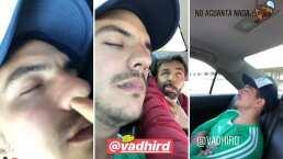 """Eugenio Derbez exhibe a Vadhir durmiendo como un bebé: """"¿Cuantos likes?"""""""