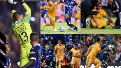 Querétaro y Tigres dividen puntos y ambos llegan a 28 unidades que los situan en la cuarta y quinta posición al momento.