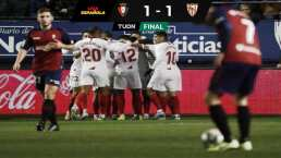 Con Chicharito, el Sevilla no pasó del empate ante el Osasuna
