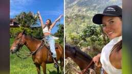 Bucea, baila y anda en bicicleta; ahora Daniella Álvarez disfruta de una cabalgata con su prótesis