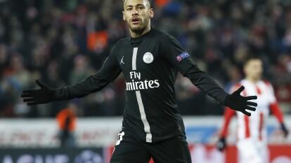Neymar regresa a la Champions League después de casi un año de ausencia y al Santiago Bernabéu por quinta ocasión.