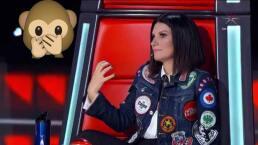 Laura Pausini confiesa que la voz le sale... ¿del trasero?