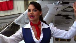 """Livia Brito y su talento con las armas en """"La Piloto"""""""