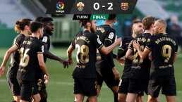Sin Messi, el Barça tuvo en De Jong y Puig a sus anotadores