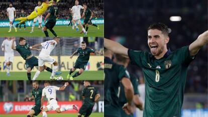 En duelo controlado por Italia, la escuadra azzurra se impuso 2-0 a Grecia.
