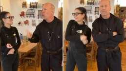 Bruce Willis y Demi Moore enamoran las redes al hacer divertido baile