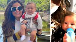 Mariana Echeverría hace su primer viaje sola junto a su hijo y comparte los tips para hacerlo más fácil