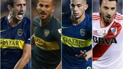 Tras su paso por el futbol mexicano, llegaron a Argentina para jugar con Boca Juniors y River Plate.