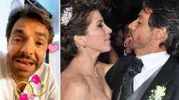 'No puedo creerlo': Eugenio Derbez se sorprende de cumplir 8 años de casado con Alessandra Rosaldo