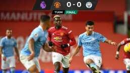 Manchester United y City protagonizan un derby gris