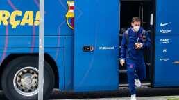 Messi llega ovacionado a Madrid