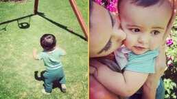 """""""Caminó el bebé"""": Rocco, hijo de Odalys Ramírez, da sus primeros pasos y ella lo premia con besos"""