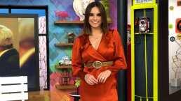 """Tania Rincón se integra a la conducción de """"Hoy"""" y sus compañeros le dan una calurosa bienvenida"""