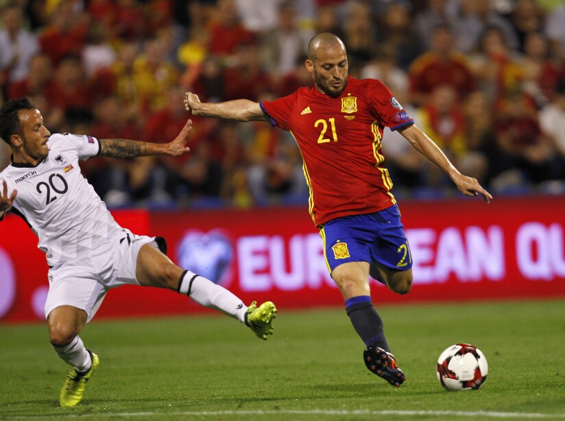 Soccer WCup 2018 Spain Albania