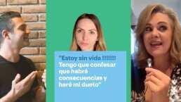"""""""Ya cambié de pequeña traviesa"""": Ari Borovoy canta con Erika Buenfil y desata los celos de integrante de OV7"""