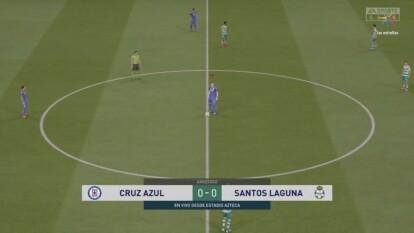 Cruz Azul no logra salir del sótano y esta vez caen frente al Santos de Eduardo Aguirre con un marcador de 3-4.