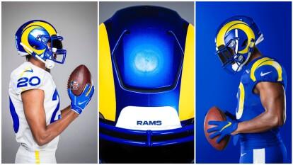 El equipo de Los Angeles Rams continúa en proceso de reestructuración y ahora presentaron su nueva y novedosa indumentaria.