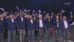 Cuba, encabezada por Mijaín López, llega a la inauguración
