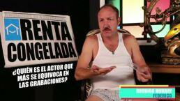 """¿Quién de los actores tuvo más """"bloopers"""" en Renta congelada? ¡Rodrigo Murray confiesa!"""