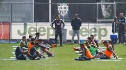 Buen ambiente en práctica del Tri rumbo al duelo ante Argelia