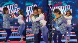 Paola Rojas y Adrián Uribe se unen para bailar una cumbia al estilo de TikTok