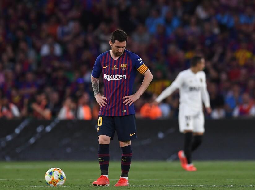 Barcelona v Valencia - Spanish Copa del Rey Final
