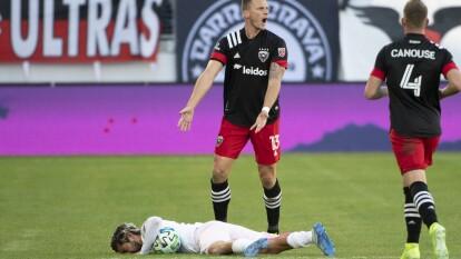 El DC United remontó el temprnero e histórico gol de Rodolfo Pizarro y el Inter Miami liga su segunda derrota consecutiva.