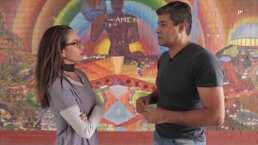 Consecuencias con Joe: A través del arte, Horacio Mata plasma el dolor que siente por estar lejos de su familia
