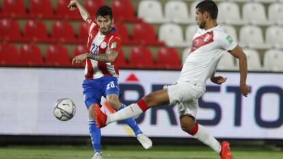 Con dobletes de Ángel Romero y André Carrillo, Perú y Paraguay reparten puntos y se conforman con una unidad.