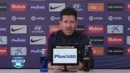 Diego Simeone siente mucha admiración por el Real Madrid