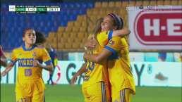 ¡Tigres al fin anota! Toluca no despeja y María Sánchez hace el 1-0