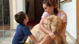 ¡Hasta siempre Güero! Tania Rincón muestra emotivos videos de Patricio con su perro