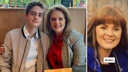 Nicolás, hijo de Erika Buenfil, publica fotografías inéditas de su mamá y sus fans quedan enamorados