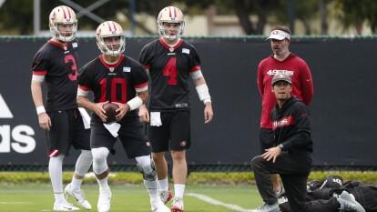 Los 49ers afinan los últimos detalles para encarar el Super Bowl ante los Chiefs de Mahomes. Se percibe un gran ambiente en el grupo de San Francisco.