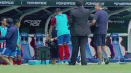 Alexis Vega puso en alerta a Chivas