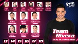 El Team Rivera se refuerza con estos nuevos integrantes