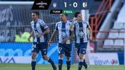 Pachuca obtiene su primer triunfo a costa de Querétaro