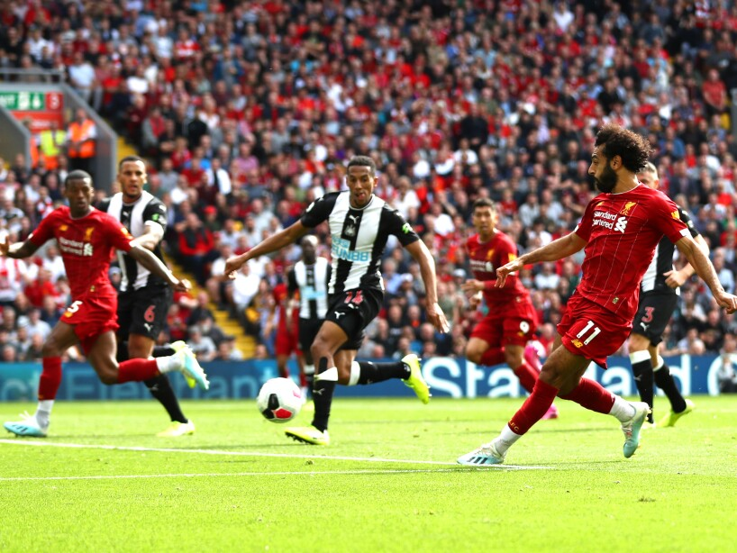 Liverpool derrota en casa 3-1 a Newcastle y mantienen el invicto
