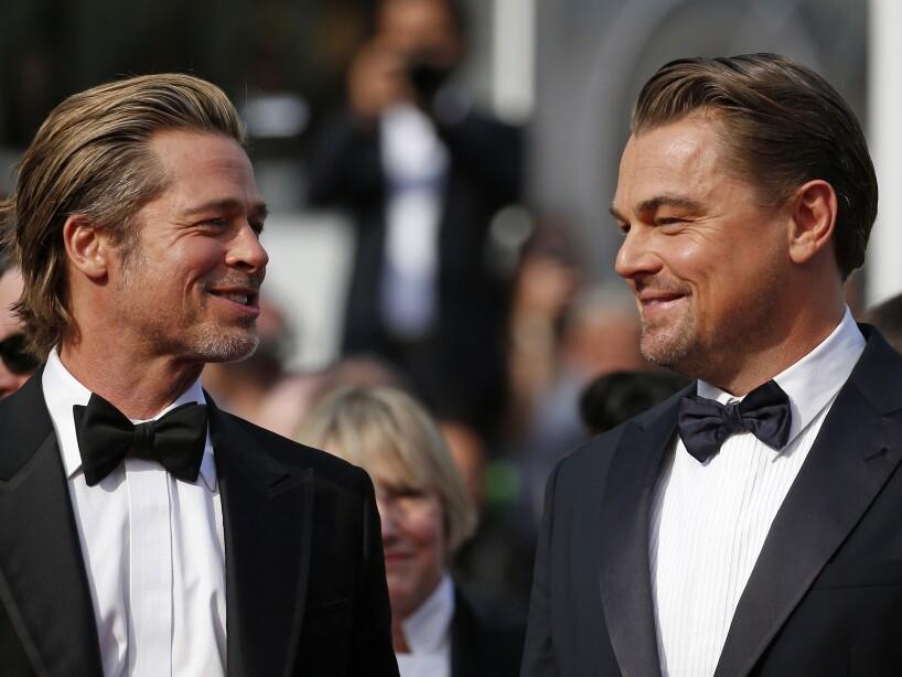 Los actores ya habían trabajado antes con el director, Quentin Tarantino: Pitt en Bastardos Sin Gloria (2009) y DiCaprio en Django Sin Cadenas (2012).