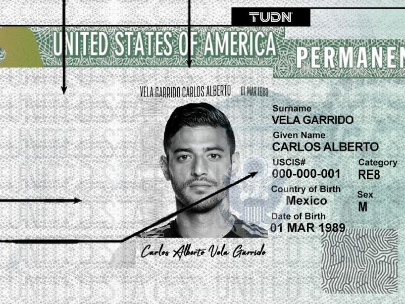 Carlos Vela Green Card