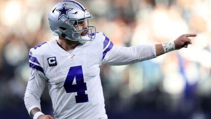 Cada vez es mas notorio que Dallas Cowboys se vaya por este quarterback. Es muy joven y talentoso.